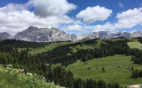 Itálie - Alta Badia na 3 až 5 dní, polopenze s dopravou vlastní
