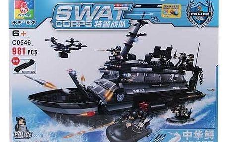 Stavebnice SWAT Loď