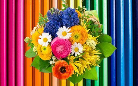 Originální kytice: lízátková či pastelková