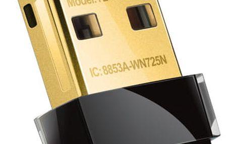 Wi-Fi adaptér TP-Link TL-WN725N (TL-WN725N) černý