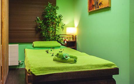 10min. masáž těla i nohou a aroma lázeň + maska na obličej