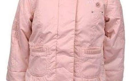 Dívčí bunda a vesta v jednom růžová vel. 92