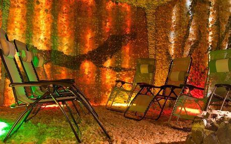 Zdravá relaxace v privátní solné jeskyni