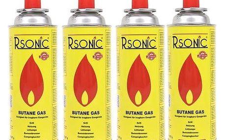 Plynové kartuše RSONIC 4x