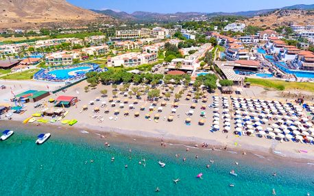 Sun Beach Lindos letecky z Brna 7 s light All Inclusive