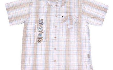 Košile chlapecká světlá 152