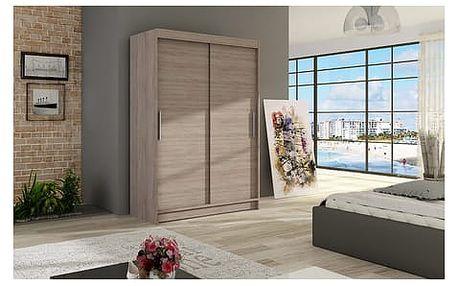 Velká šatní skříň MIAMI I trufla šířka 120 cm