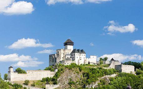 Pobyt nedaleko města Trenčín odpočinkově i aktivně s privátním wellness, neomezeným fitness a polopenzí