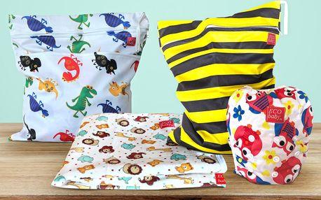 Dětské rostoucí plavky, tašky a přebalovací deky