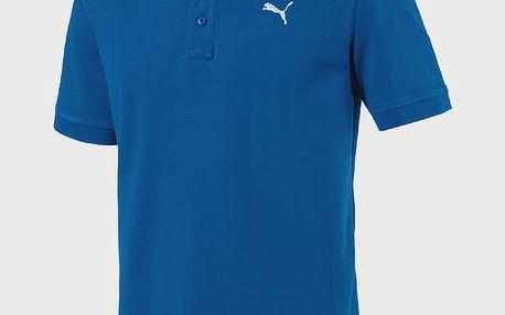 Tričko Puma ESS Pique Polo Modrá