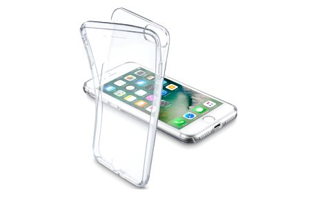 Kryt na mobil CellularLine Clear Touch pro Apple iPhone 8/7 průhledné (CLEARTOUCHIPH747T)