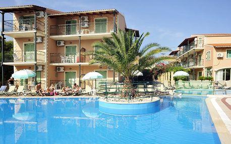 Řecko - Korfu: Aparthotel Philippos na 8 dní letecky z Ostravy