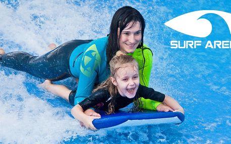 Chyťte vlnu: 30 minut surfování pro 2 osoby
