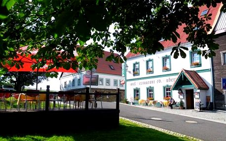 3–6denní pobyt pro 2 s polopenzí v hotelu Svatý Hubert v Krušných horách