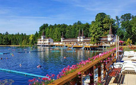 Kouzelné Hévíz: jezero termálům zaslíbené. Pobyt v příjemném apartmánu se snídaní + platnost do konce roku 2018