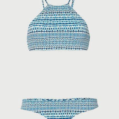 Bikiny O´Neill Pw High Neck Bikini Modrá