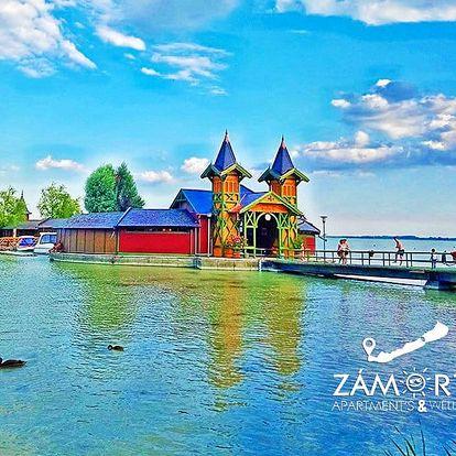 Senzační Balaton v městečku Keszthely – ubytování s venkovním bazénem + slevy na wellness, plavbu lodí i vstup do hradu