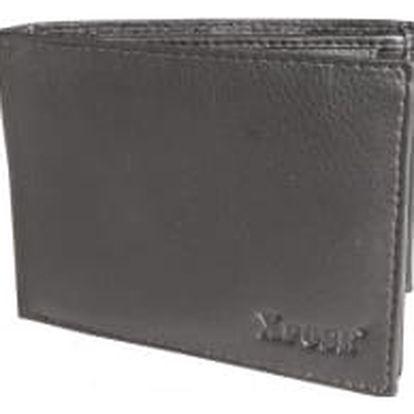 XPOSE ® Pánská peněženka XPOSE XN-05 - tmavě hnědá