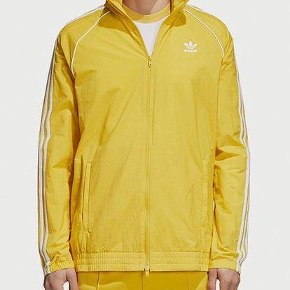 Bunda adidas Originals Sst Windbreaker Žlutá