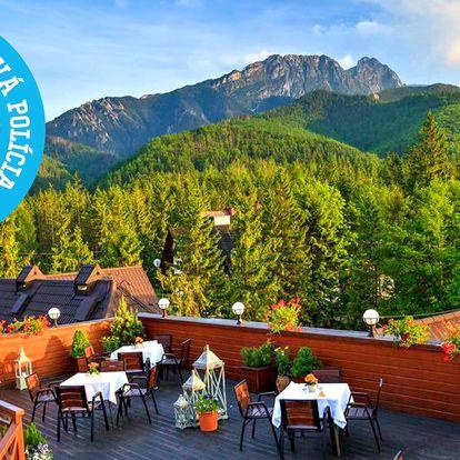 LETNÝ pobyt v hoteli Belvedere**** v Zakopanom