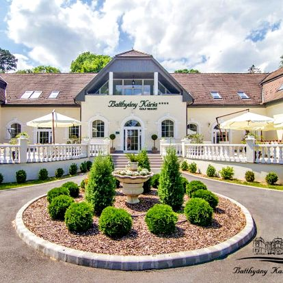 Relax nedaleko Balatonu v luxusním 4* hotelu u lázní Kehidakustány + neomezené wellness, bohatá polopenze, minigolf a další vyžití