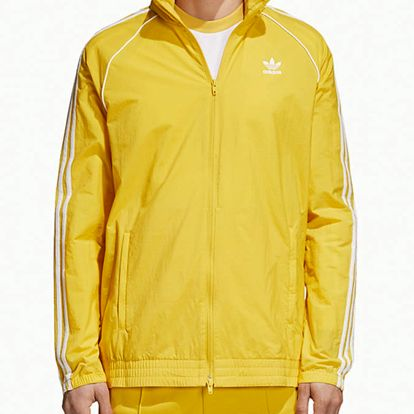 Bunda adidas Originals Sst Windbreaker Žlutá
