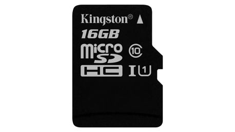 Paměťová karta Kingston Canvas Select MicroSDHC 16GB UHS-I U1 (80R/10W) (SDCS/16GBSP)