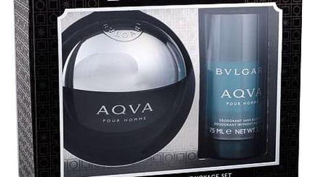 Bvlgari Aqva Pour Homme EDT dárková sada M - EDT 100 ml + deostick 75 ml
