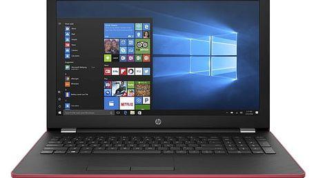 Notebook HP 15-bw065nc (2YL63EA#BCM) červený Software F-Secure SAFE, 3 zařízení / 6 měsíců v hodnotě 979 Kč + DOPRAVA ZDARMA