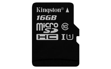 Paměťová karta Kingston Canvas Select MicroSDHC 16GB UHS-I U1 (80R/10W) (SDCS/16GBSP)