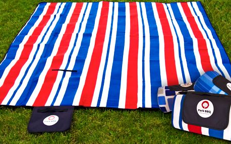 Stylová pikniková deka s termoizolační vrstvou