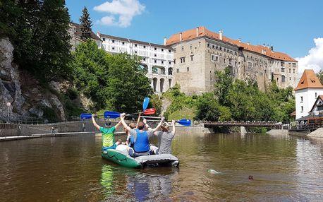 Zážitek na vodě: z Rožmberku až do Českého Krumlova