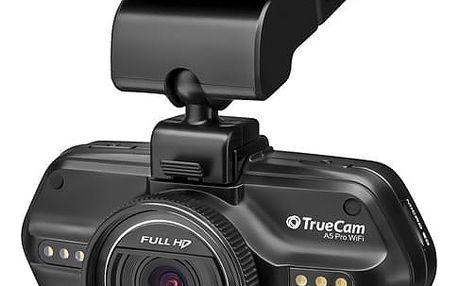 Autokamera TrueCam A5 Pro WiFi černá