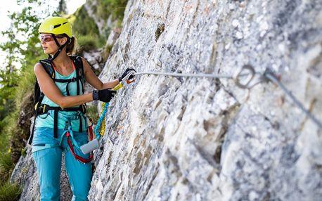 Polodenní zážitkový kurz Via ferrata lezení
