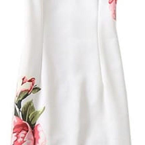 Elegantní úzké šaty - různé motivy