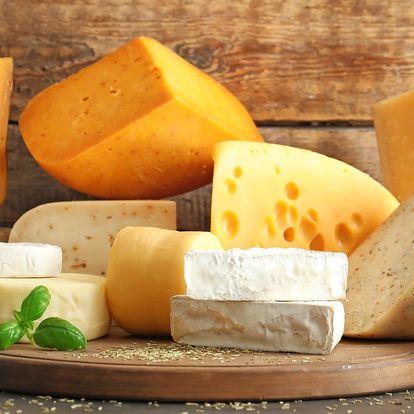 4× 100 g skvělých sýrů z Francie a Švýcarska