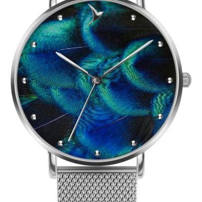 Dámské hodinky s páskem z nerezové oceli stříbrné barvy Emily Westwood Dreamy