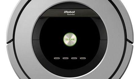 Vysavač robotický iRobot Roomba 886 stříbrný