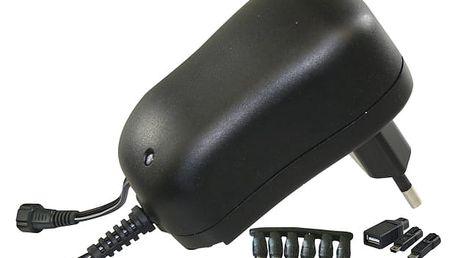 Napájecí adaptér EMOS pulzní 1000mA s hřebínkem (SWP1000)