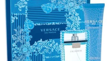 Versace Man Eau Fraiche 100 ml dárková kazeta pro muže toaletní voda 100ml + sprchový gel 150 ml