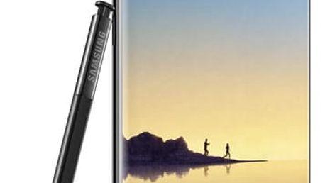Mobilní telefon Samsung Galaxy Note8 černý + dárky (SM-N950FZKDETL)