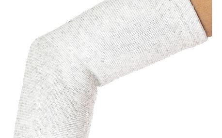 4Home kompresní návlek na loket se stříbrným vláknem