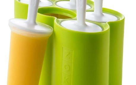 Zelená forma na 6 nanuků ZOKU Classic Pop