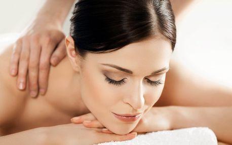 Čtyři druhy relaxačních masáží dle výběru