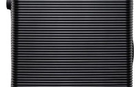 Dámský malý černý kufr na kolečkách Travel 6676