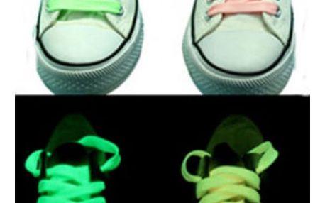 Fosforové svítíci tkaničky