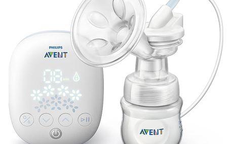 AVENT PHILIPS Odsávačka mateřského mléka Classic elektronická EasyComfort