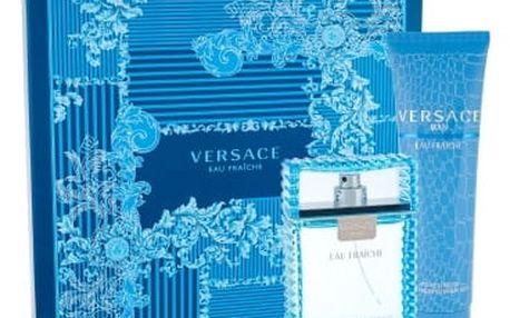 Versace Man Eau Fraiche 100 ml dárková kazeta dárková sada pro muže toaletní voda 100ml + sprchový gel 150 ml