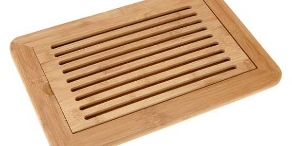 Bambusové prkénko na krájení chleba, 38x24cm EH Excellent Houseware