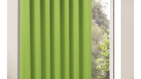 Albani Zatemňovací závěs Tina zelená, 245 x 140 cm